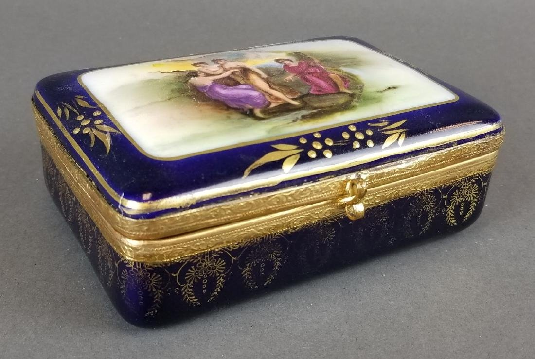 French Sevres Style Jewelry Box