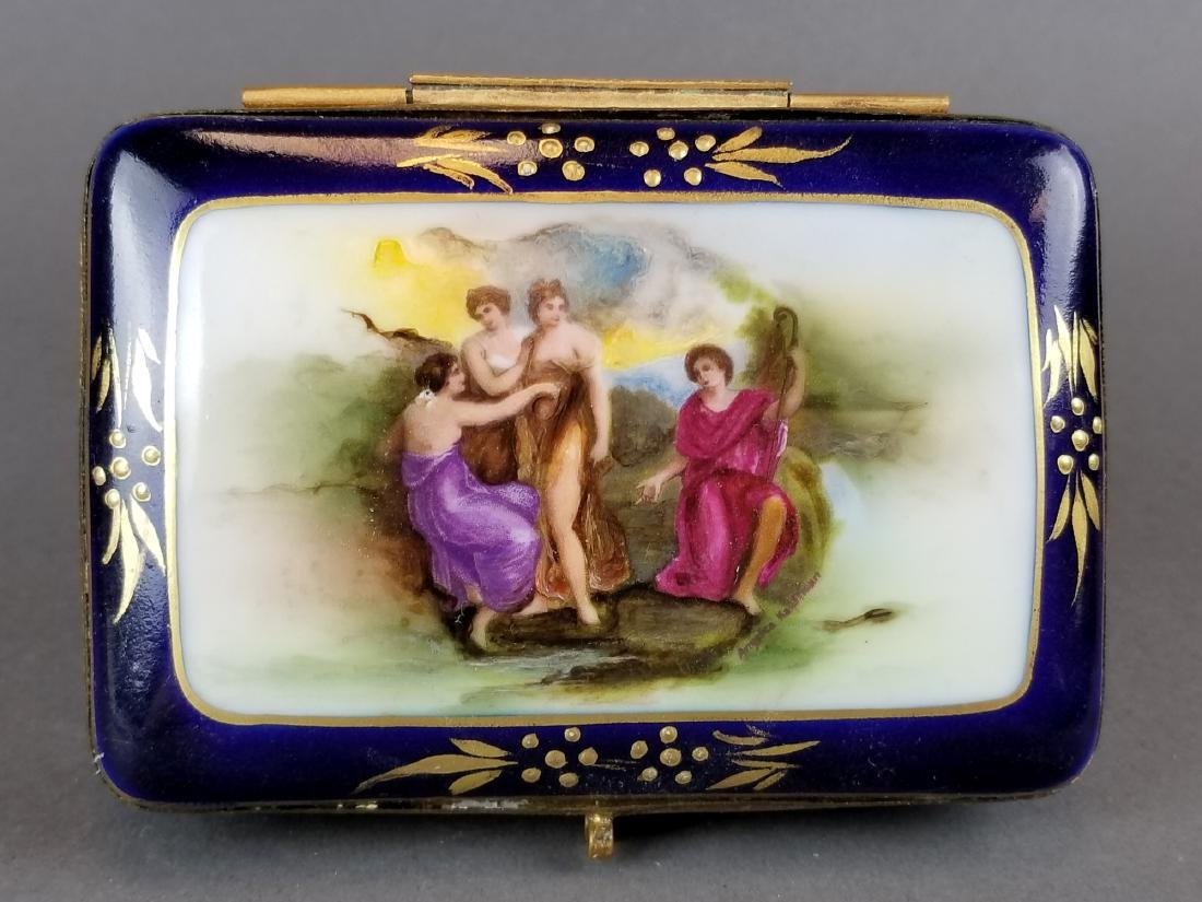 French Sevres Style Jewelry Box - 2