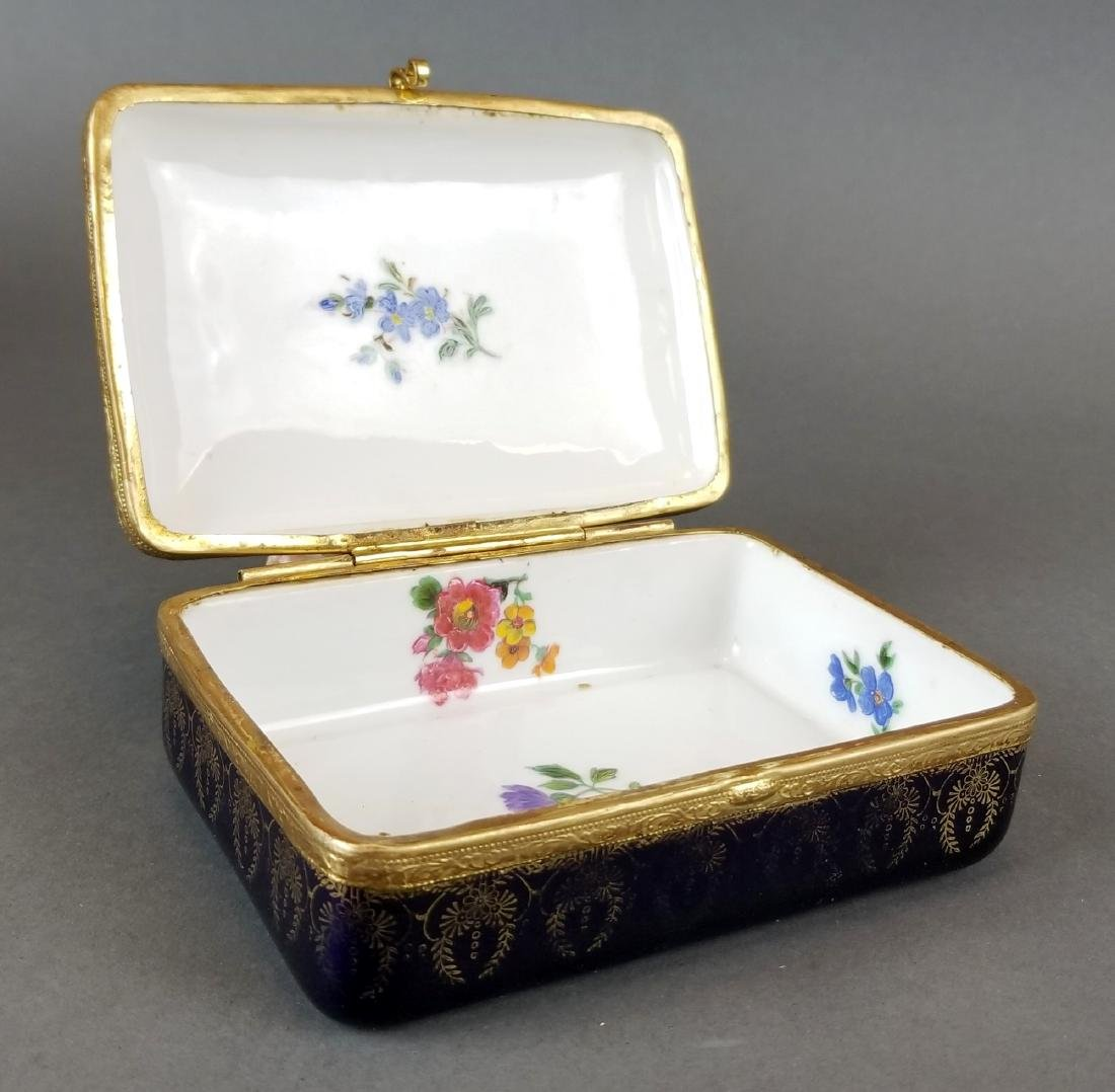 French Sevres Style Jewelry Box - 3