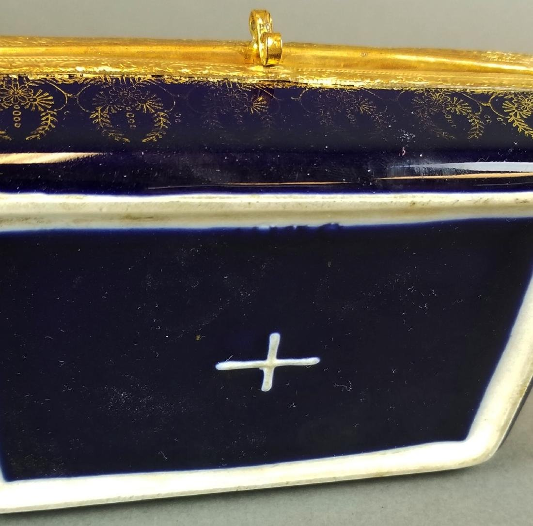 French Sevres Style Jewelry Box - 4