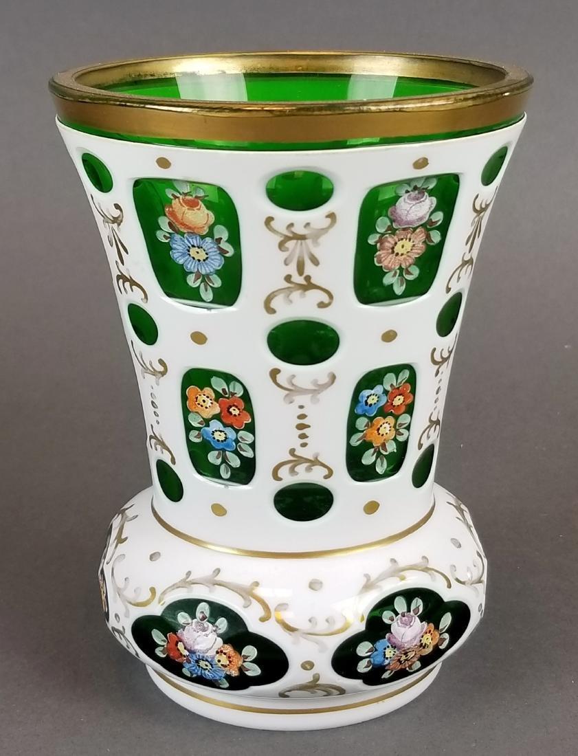 Pair of Bohemian Vases - 2