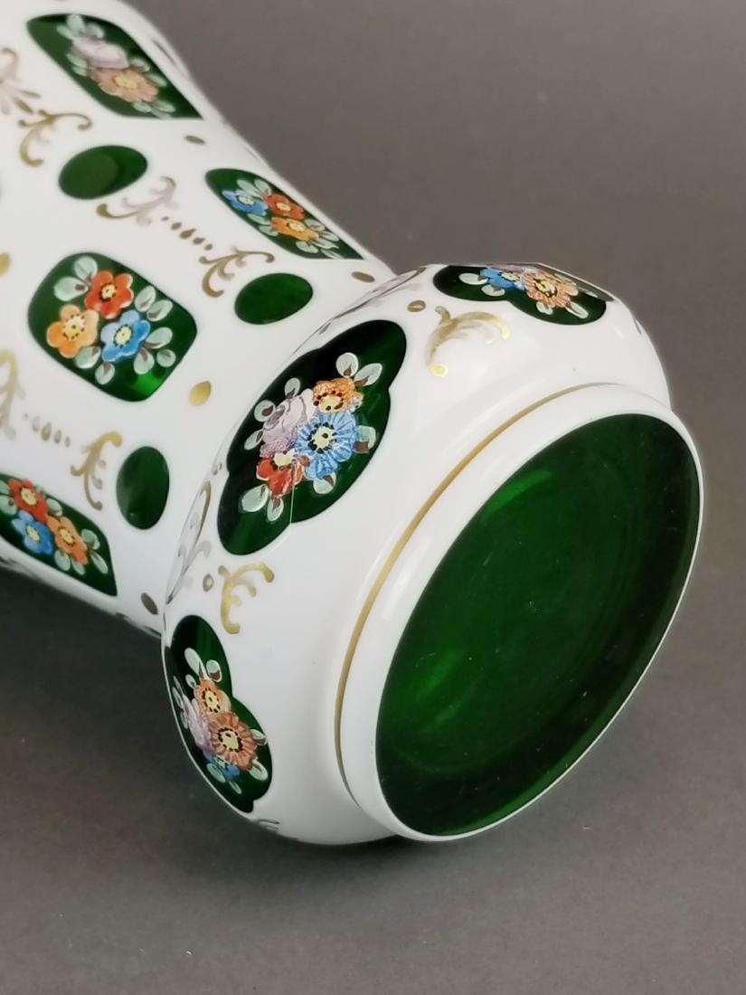 Pair of Bohemian Vases - 3