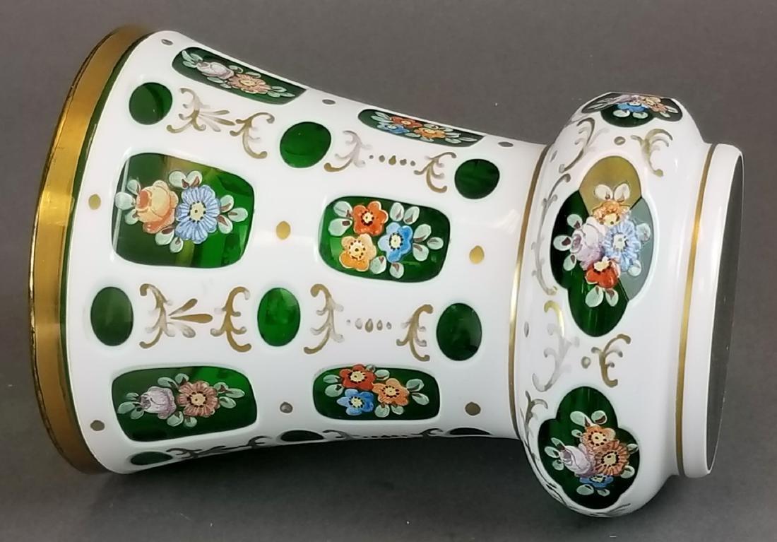 Pair of Bohemian Vases - 4