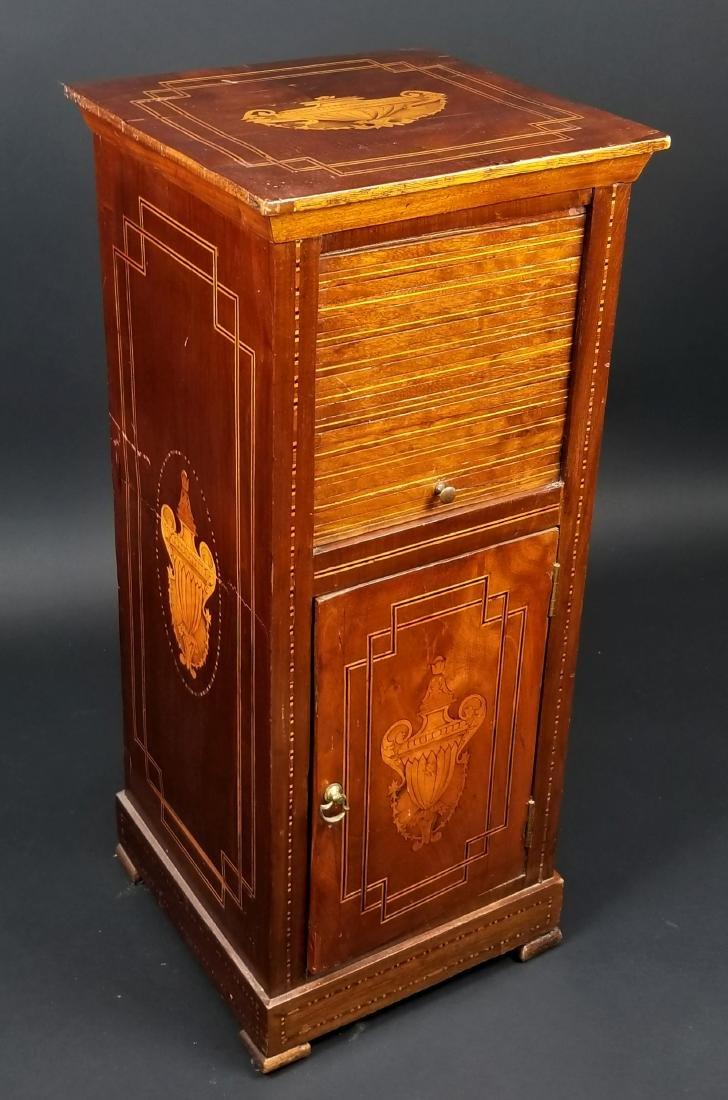 Italian Inlaid Mahogany Cabinet, Circa 1800