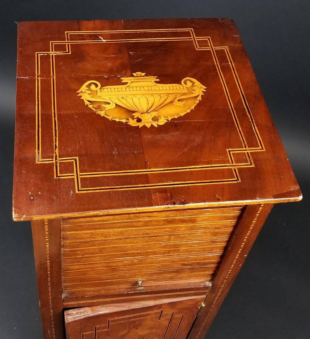 Italian Inlaid Mahogany Cabinet, Circa 1800 - 4
