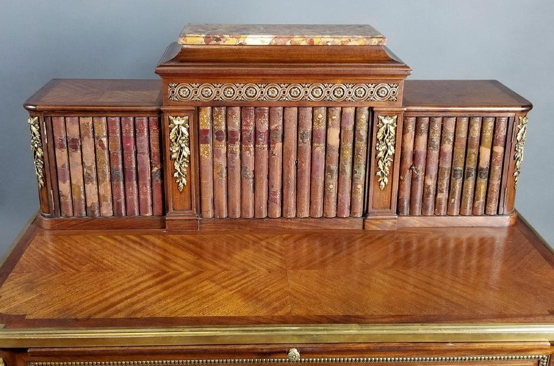 19th C. French Louis XVI Style Writing Desk - 3