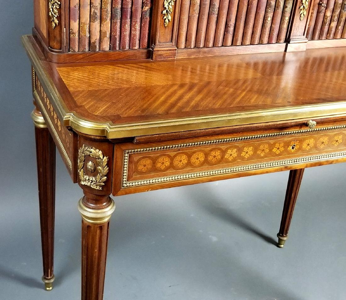 19th C. French Louis XVI Style Writing Desk - 6
