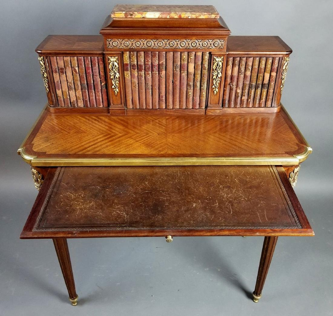 19th C. French Louis XVI Style Writing Desk - 7