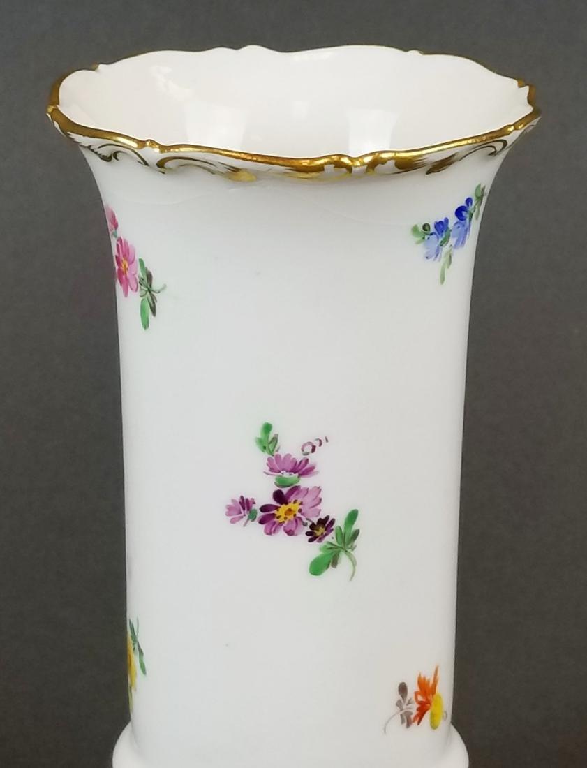 19th C. Meissen Vase - 2
