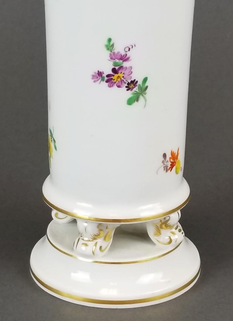 19th C. Meissen Vase - 3