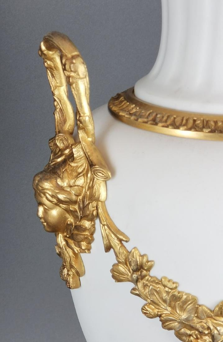 Pair of French Bronze Mounted Lamps - 4