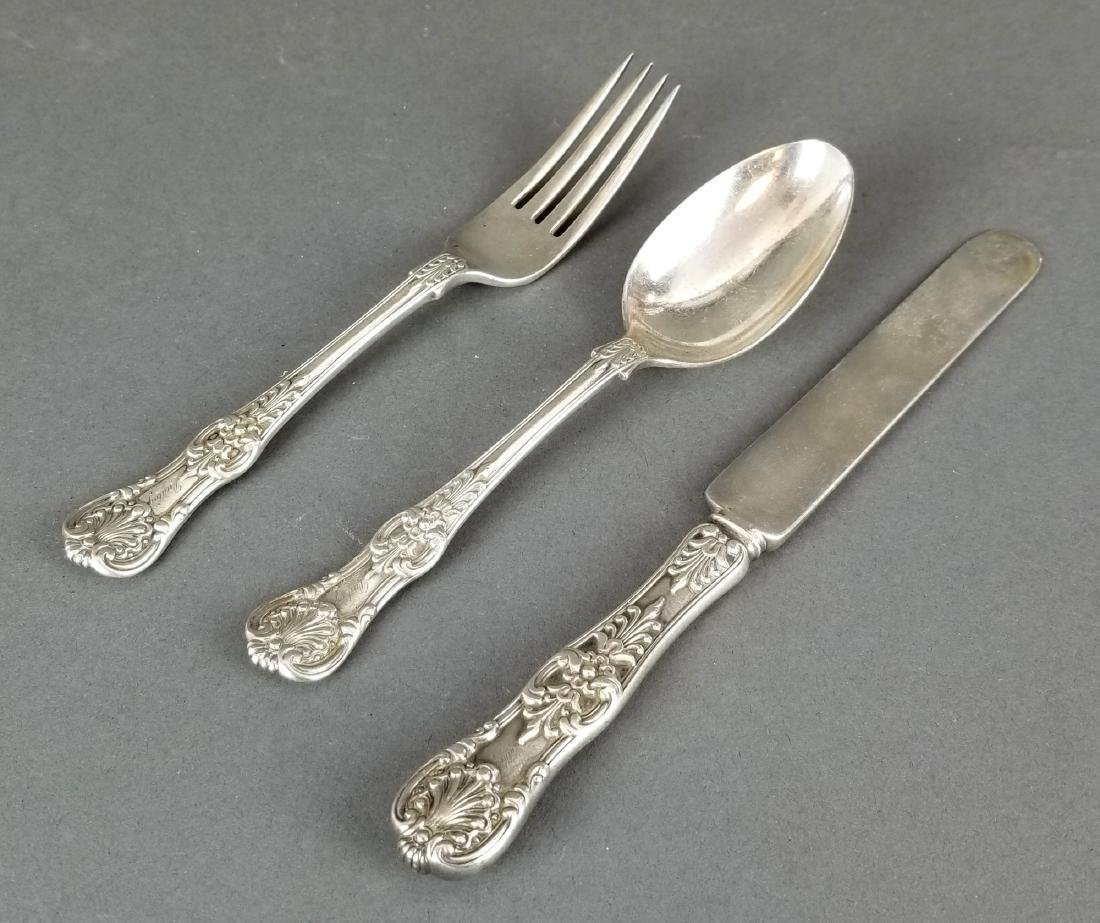 Set of 3 Tiffany and Co. Sterling Silver Silverware