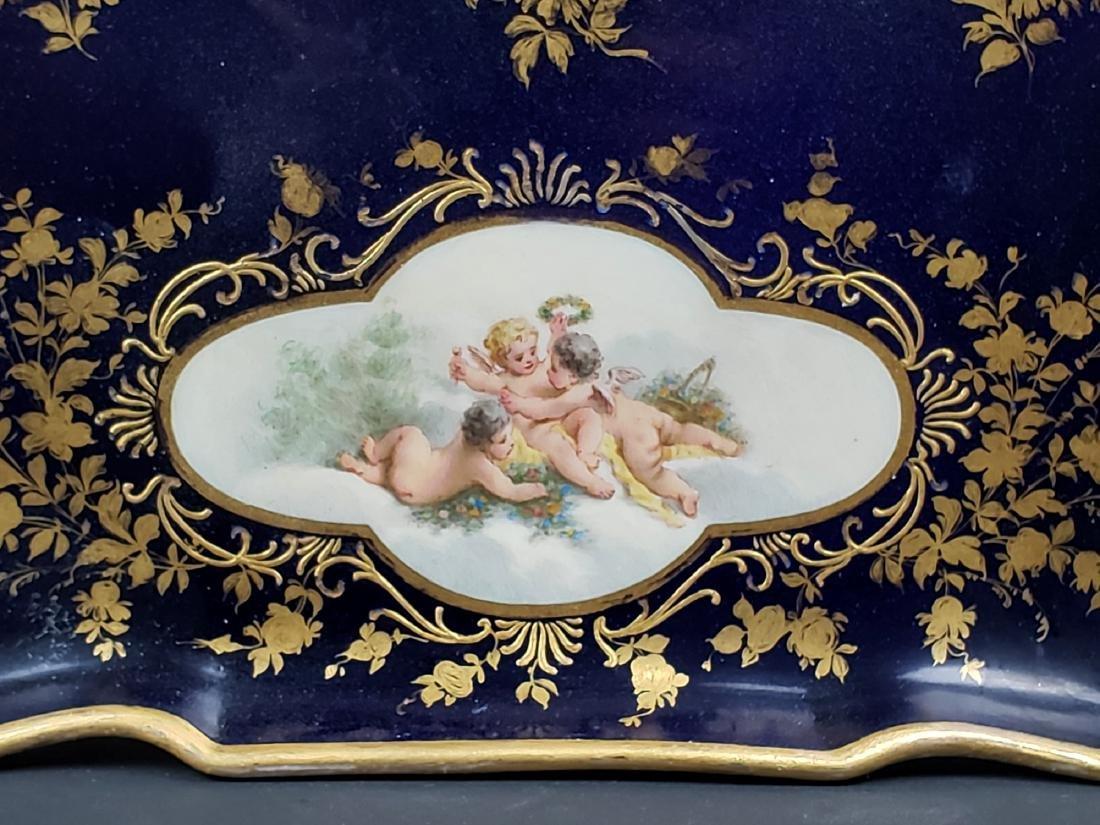19th C. Meissen Porcelain Tray - 2