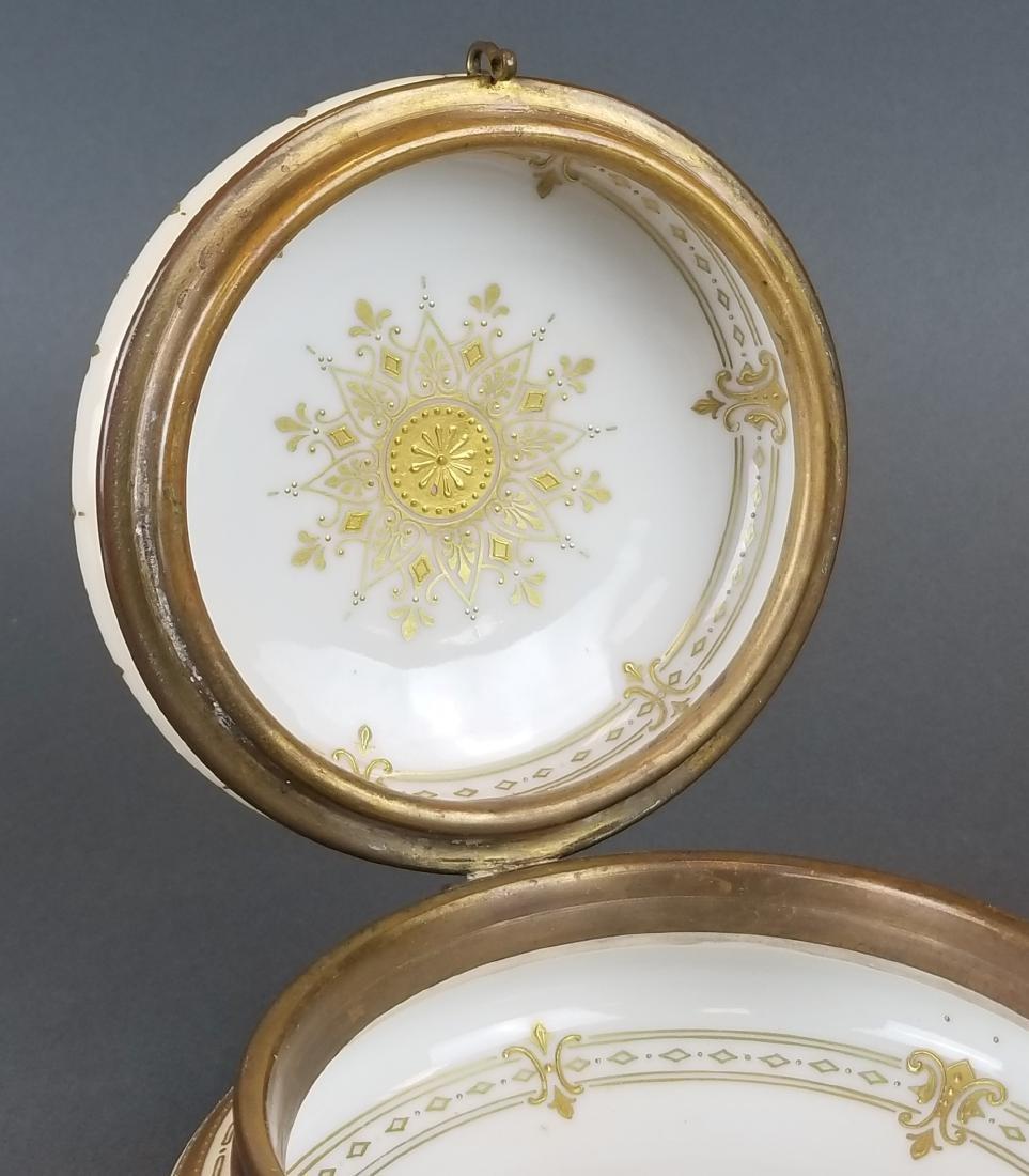 19th C. Royal Vienna Hand Painted Jewelry Box - 5