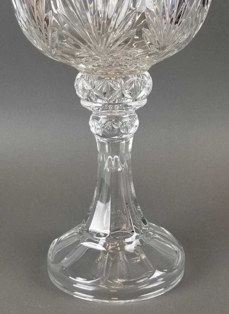 Large Crystal Vase - 3