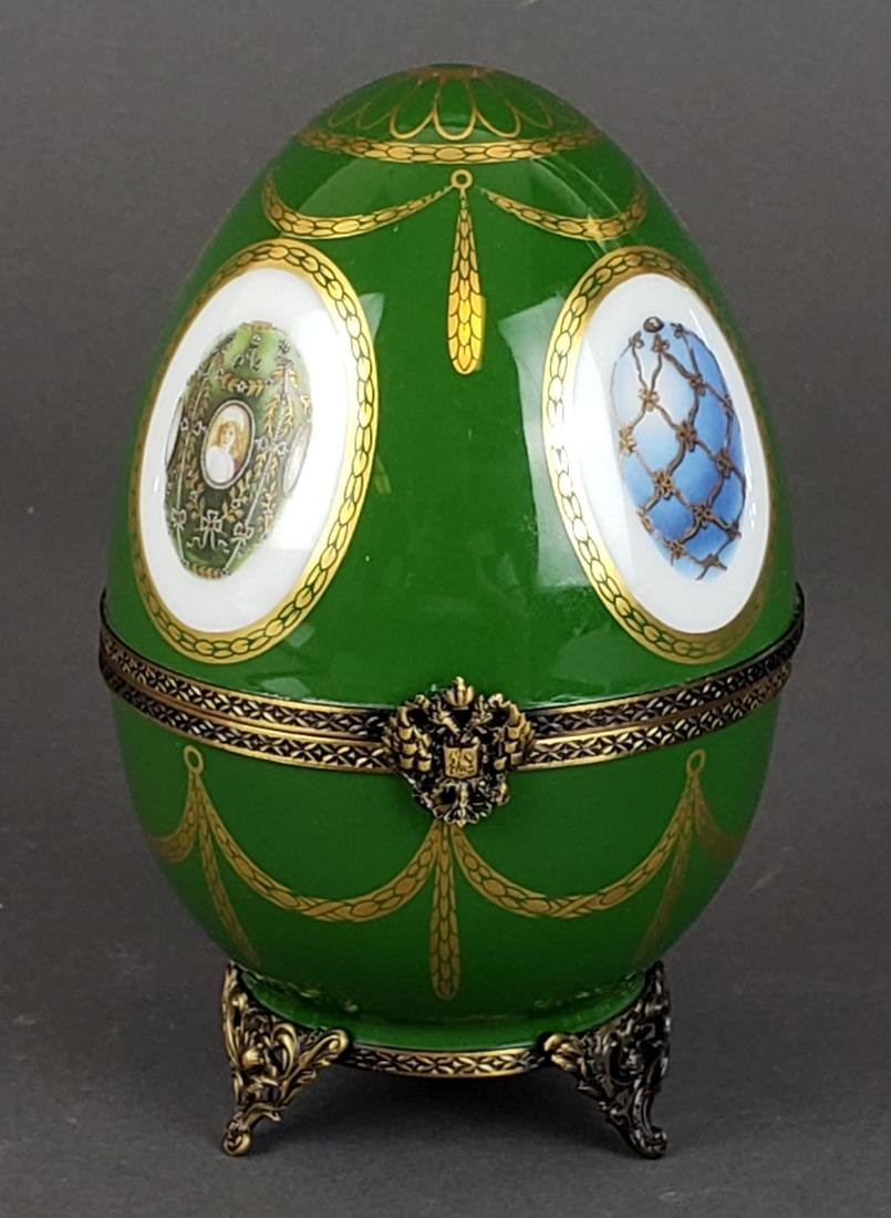 Faberge Limoges Limited Edition Egg