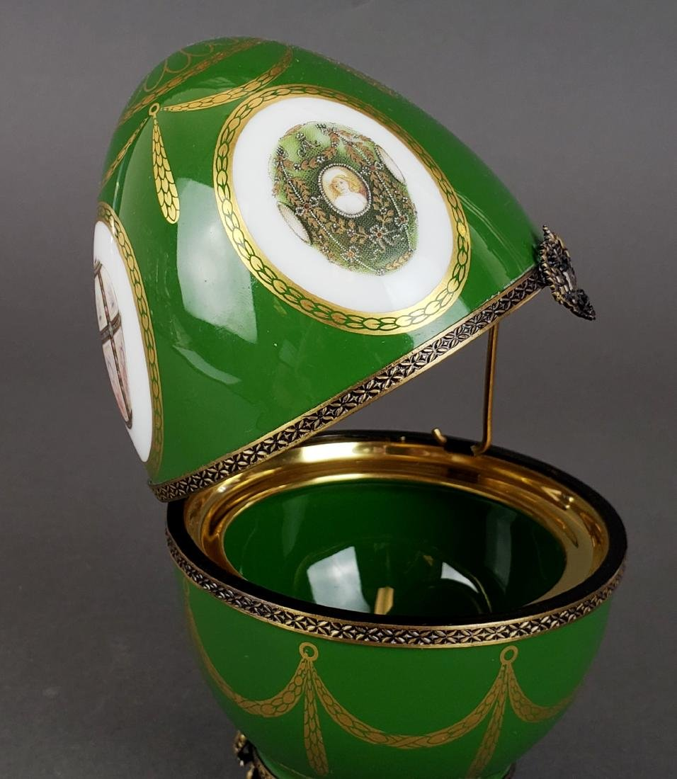 Faberge Limoges Limited Edition Egg - 3