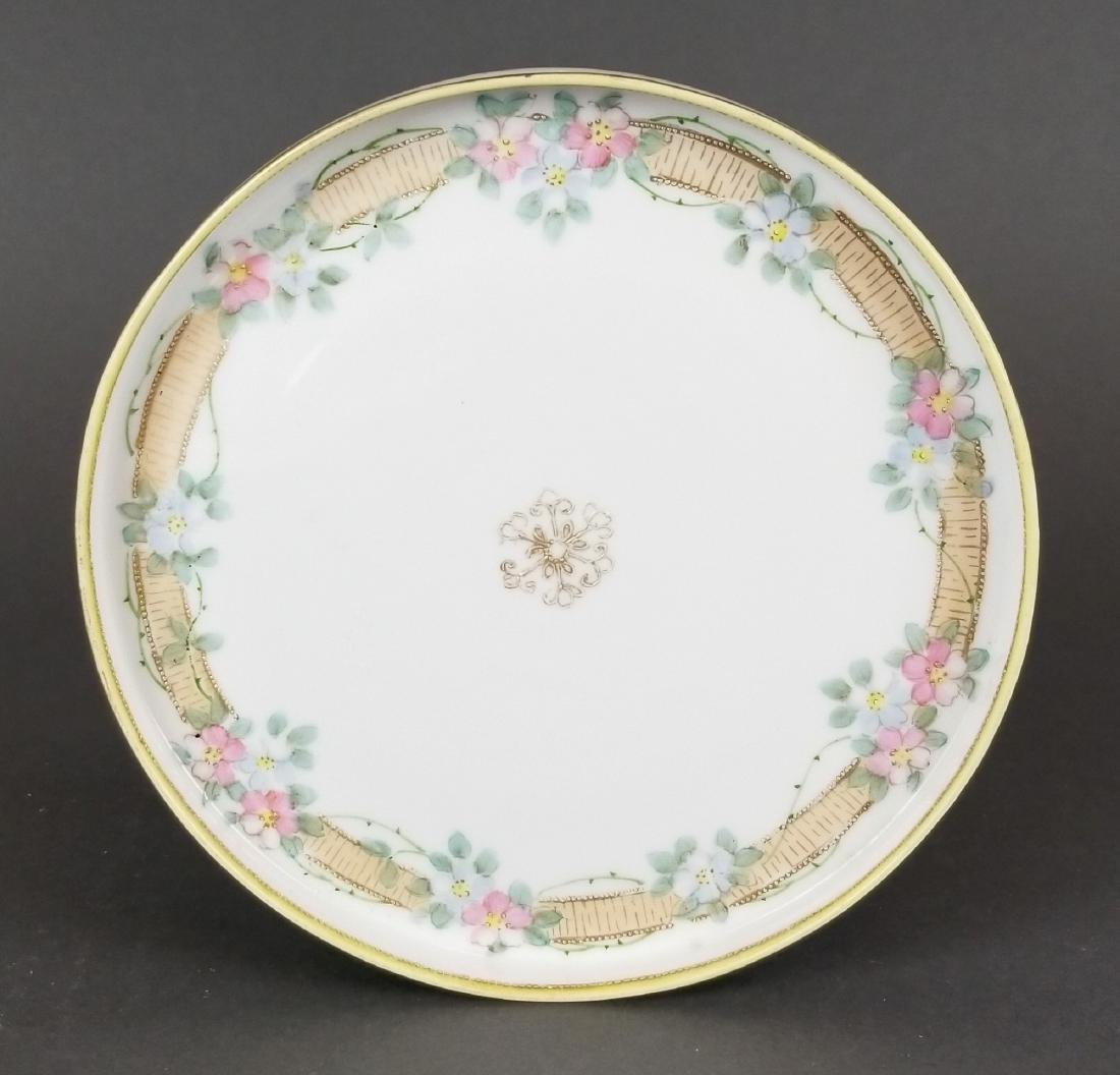 Hand Painted Japanese Nippon Plate