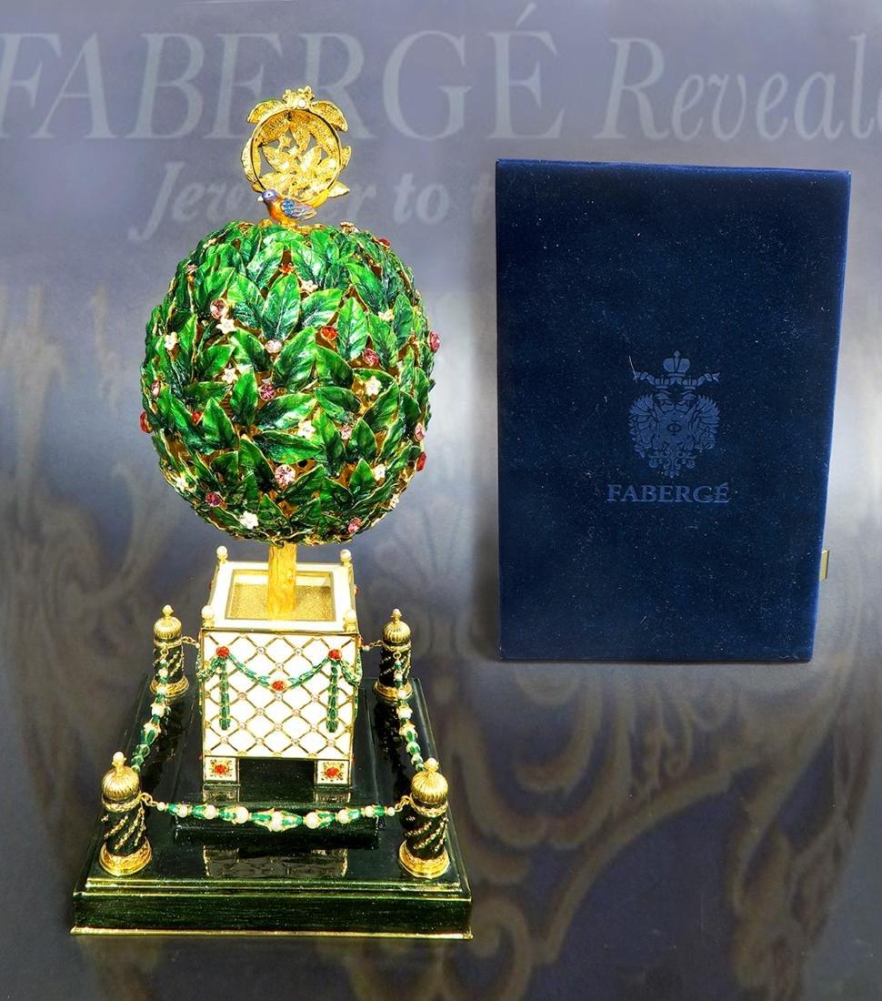 Large Faberge Tree Musical Egg