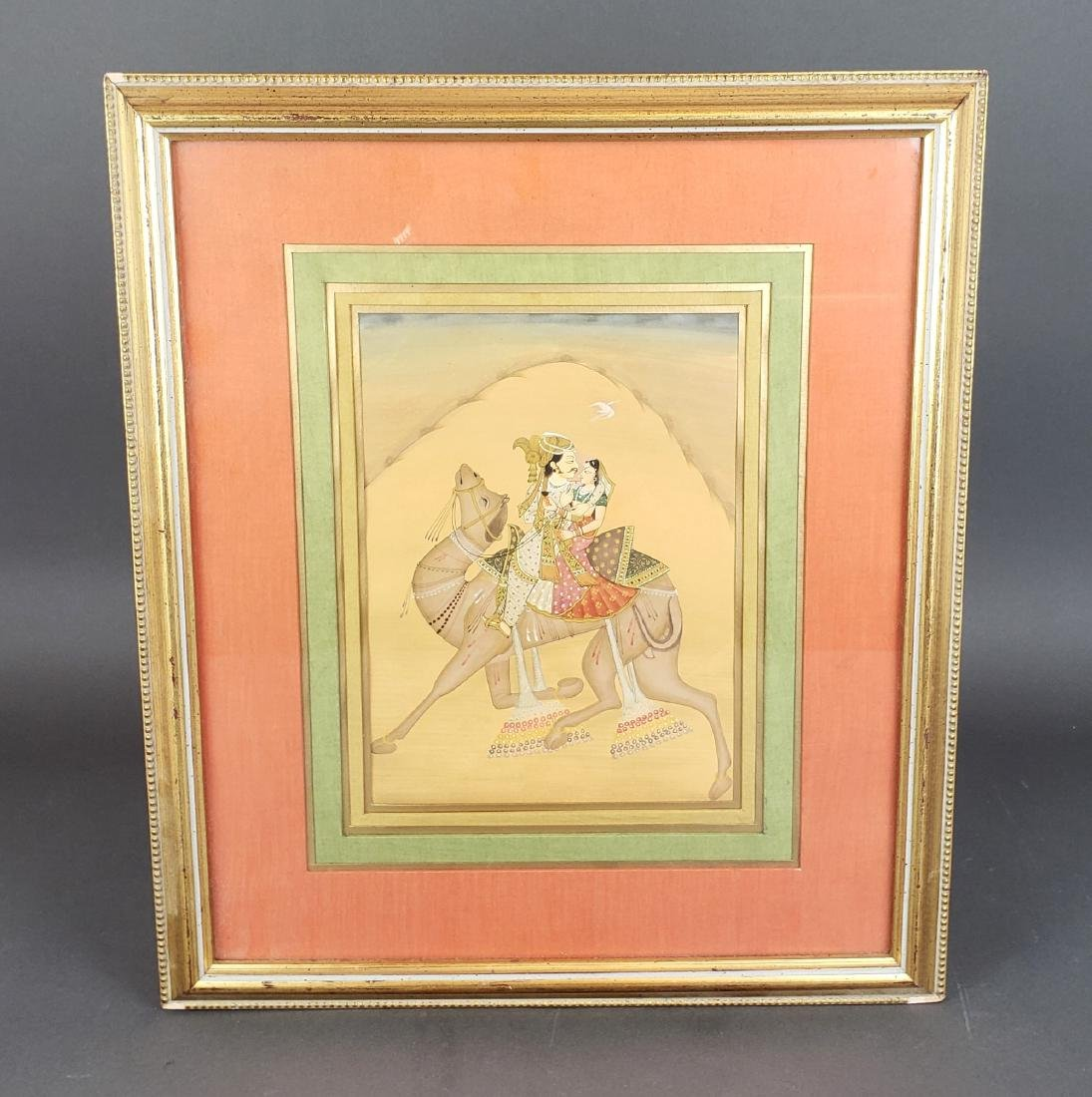 Framed Indian Painting