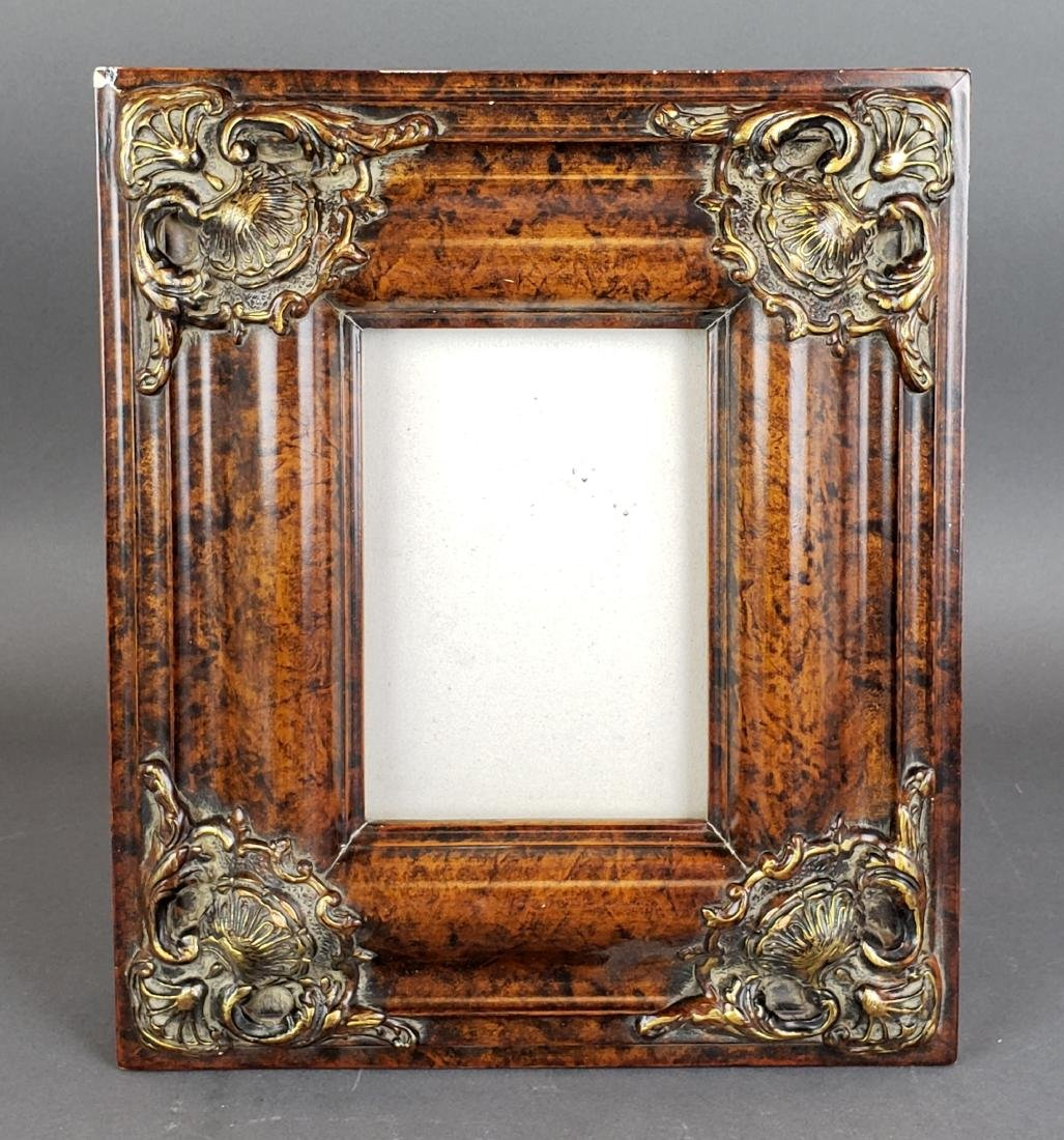 Antique Wooden Photo Frame