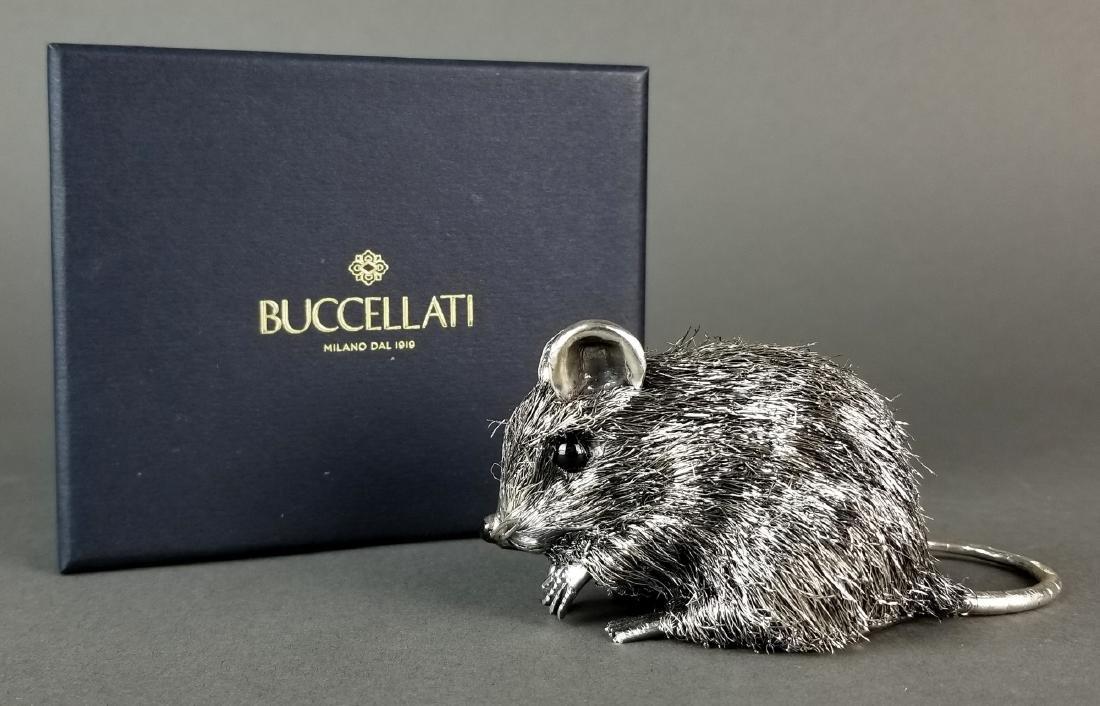 Buccellati Fine Handmade Silver Mouse Signed