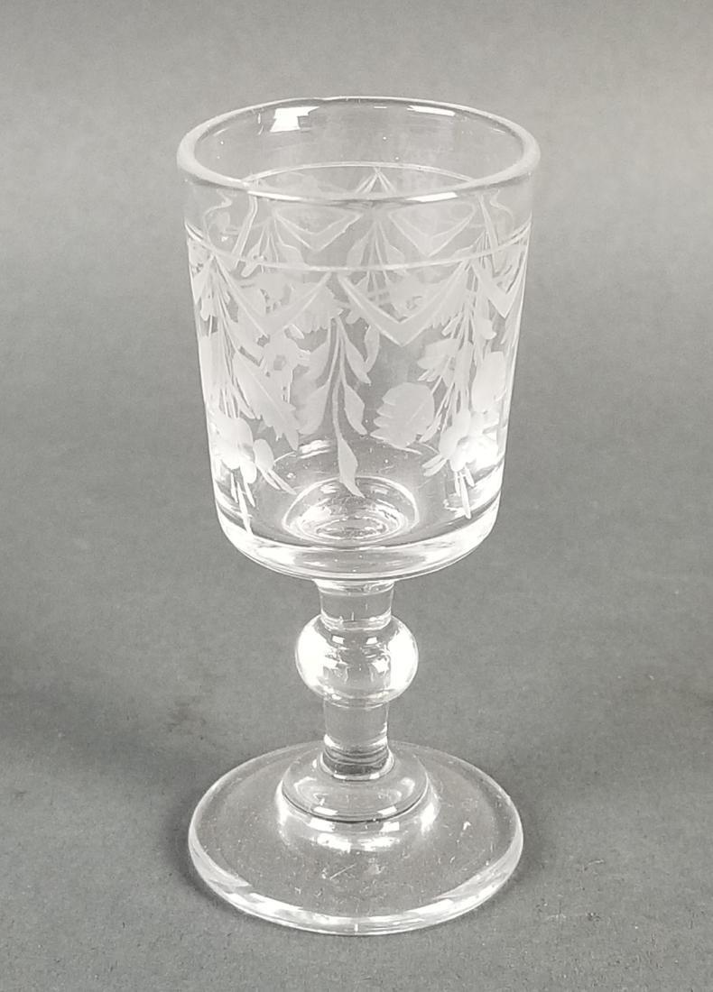 A 19th C. French Gilt Bronze Tantlus Liquor Set - 9