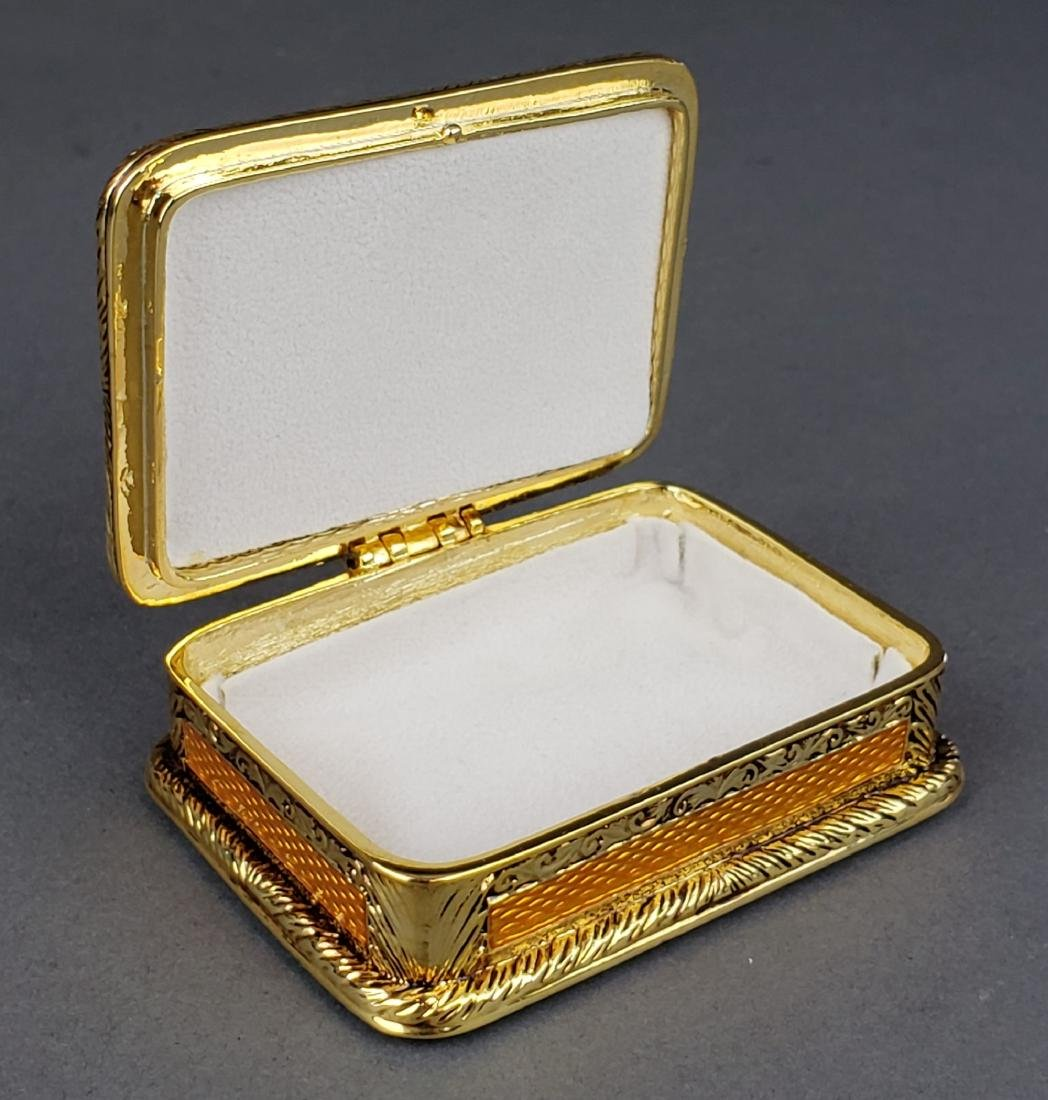 Faberge Enamel Jewelery Box - 3