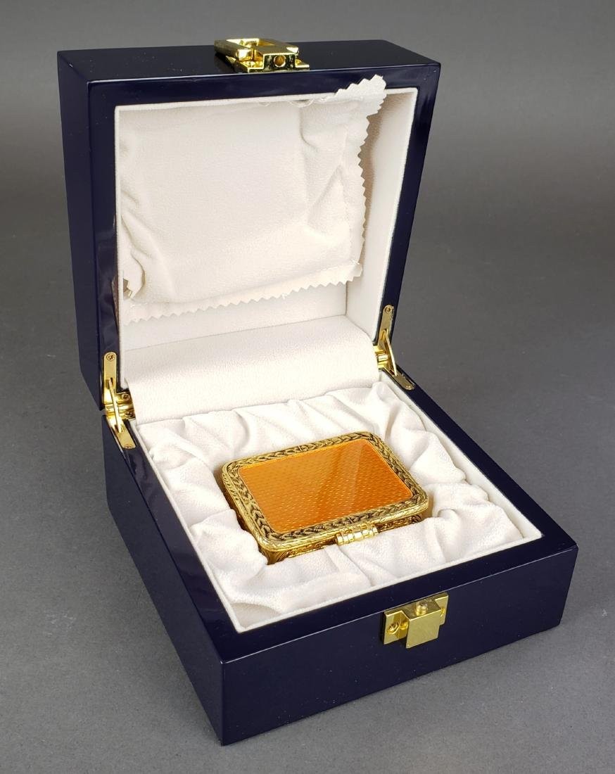 Faberge Enamel Jewelery Box - 5