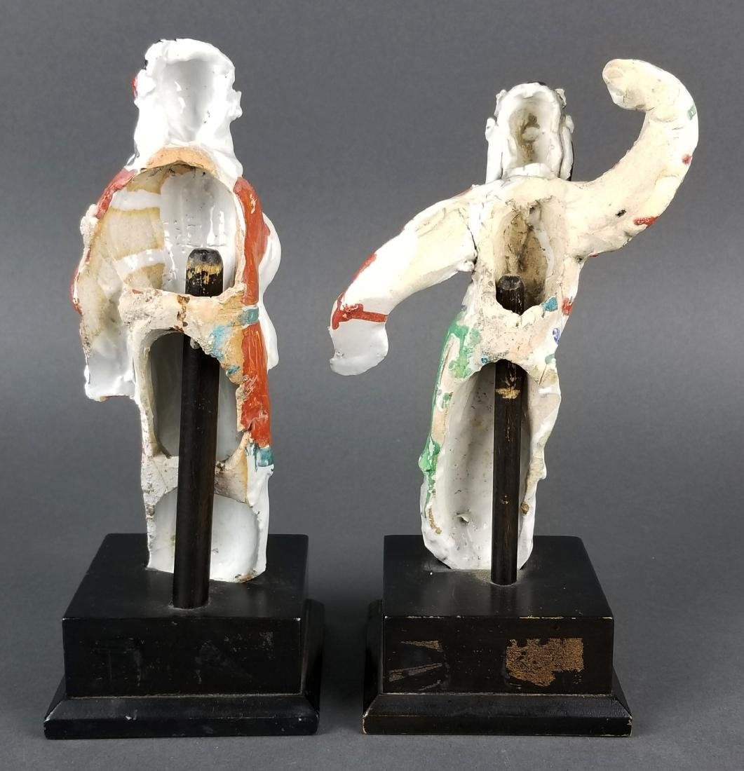 Pair of Japanese Porcelain Figurines - 4