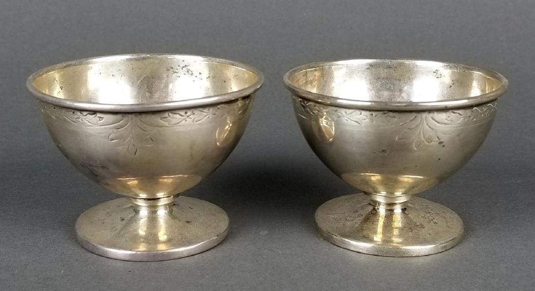Pair of Sterling Silver Cups
