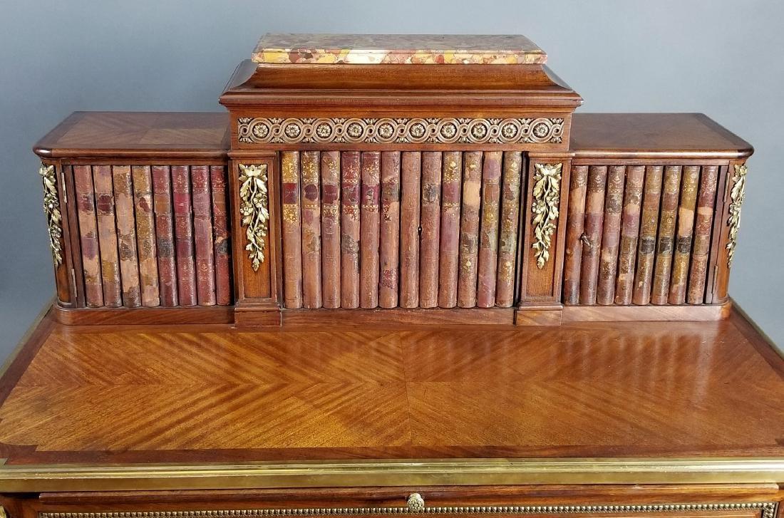 19th C. French Louis XVI Style Writing Desk - 3