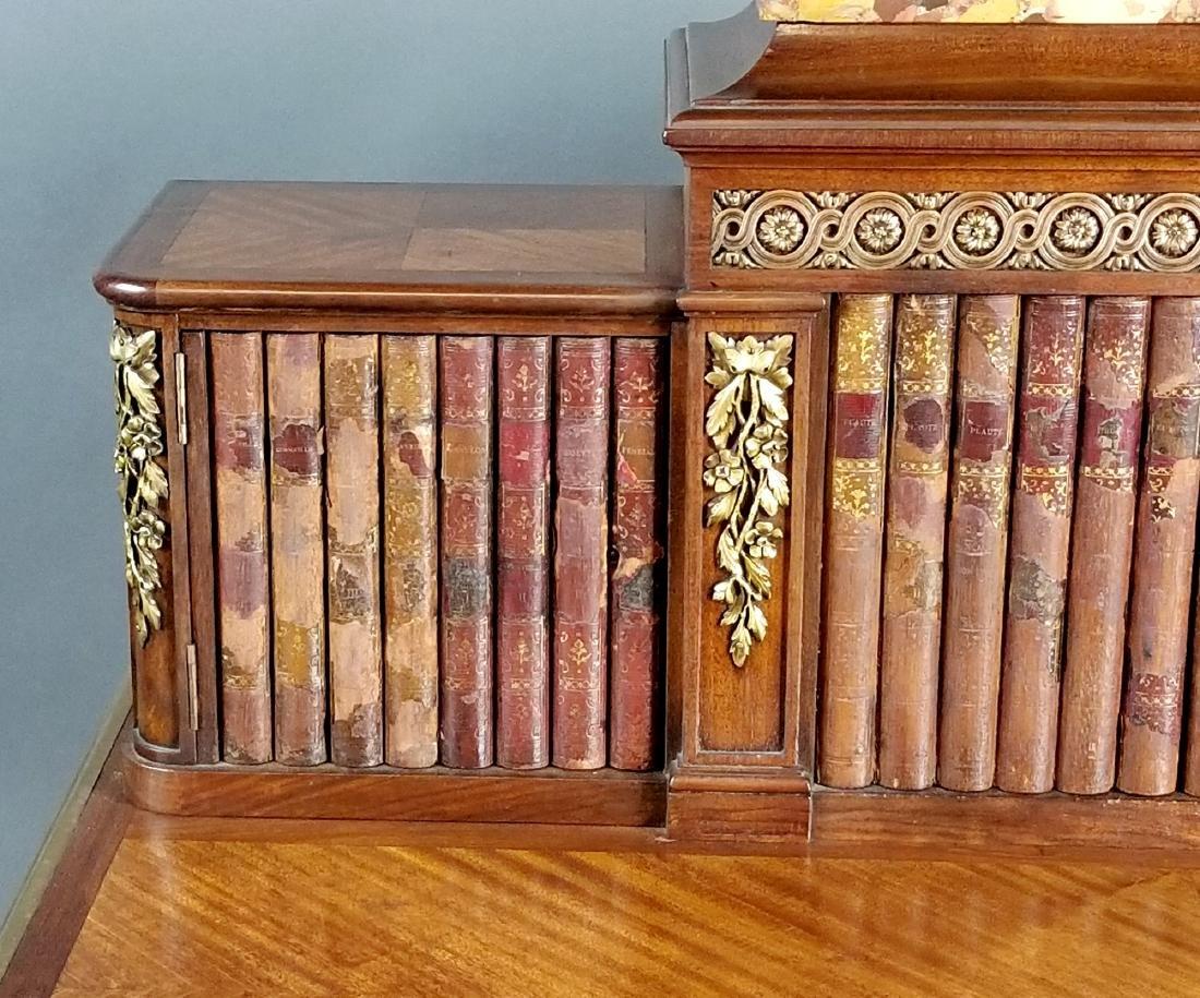 19th C. French Louis XVI Style Writing Desk - 4