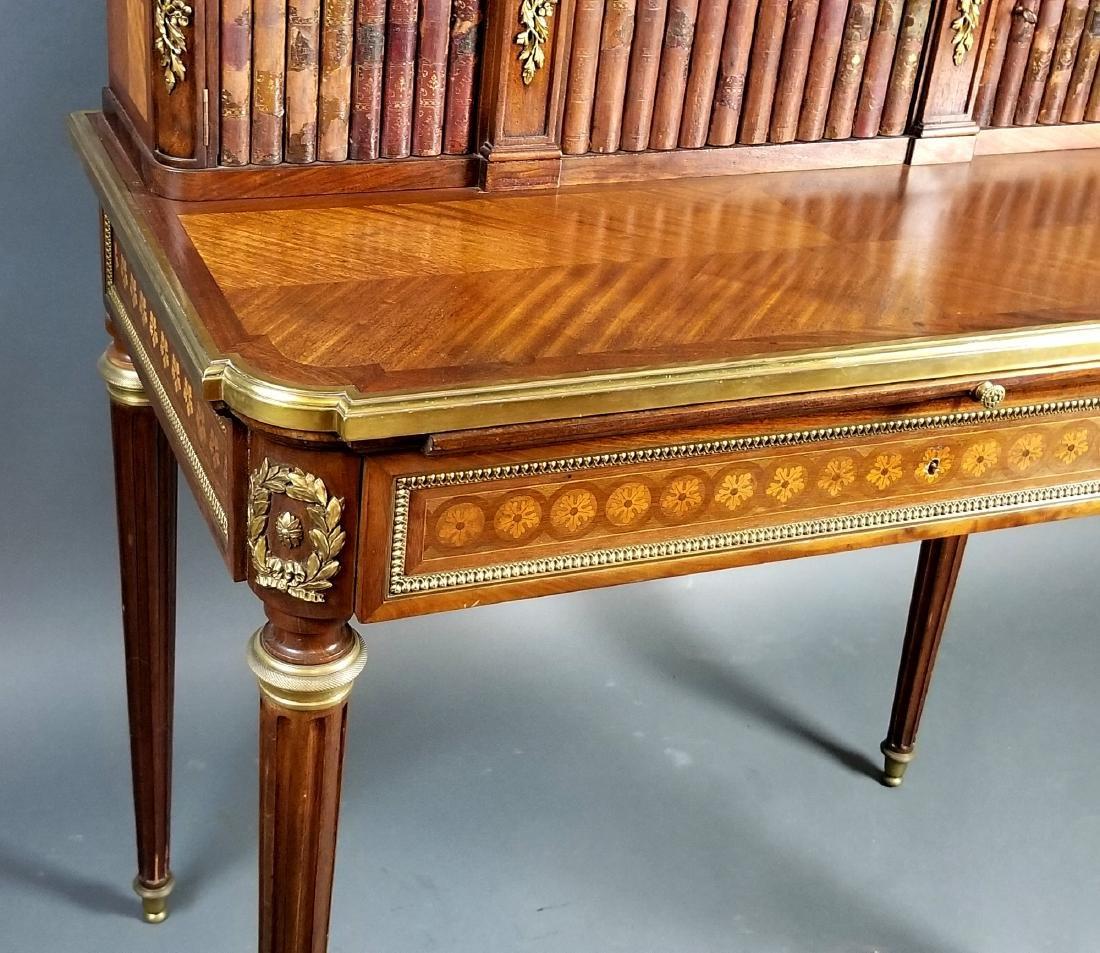 19th C. French Louis XVI Style Writing Desk - 6