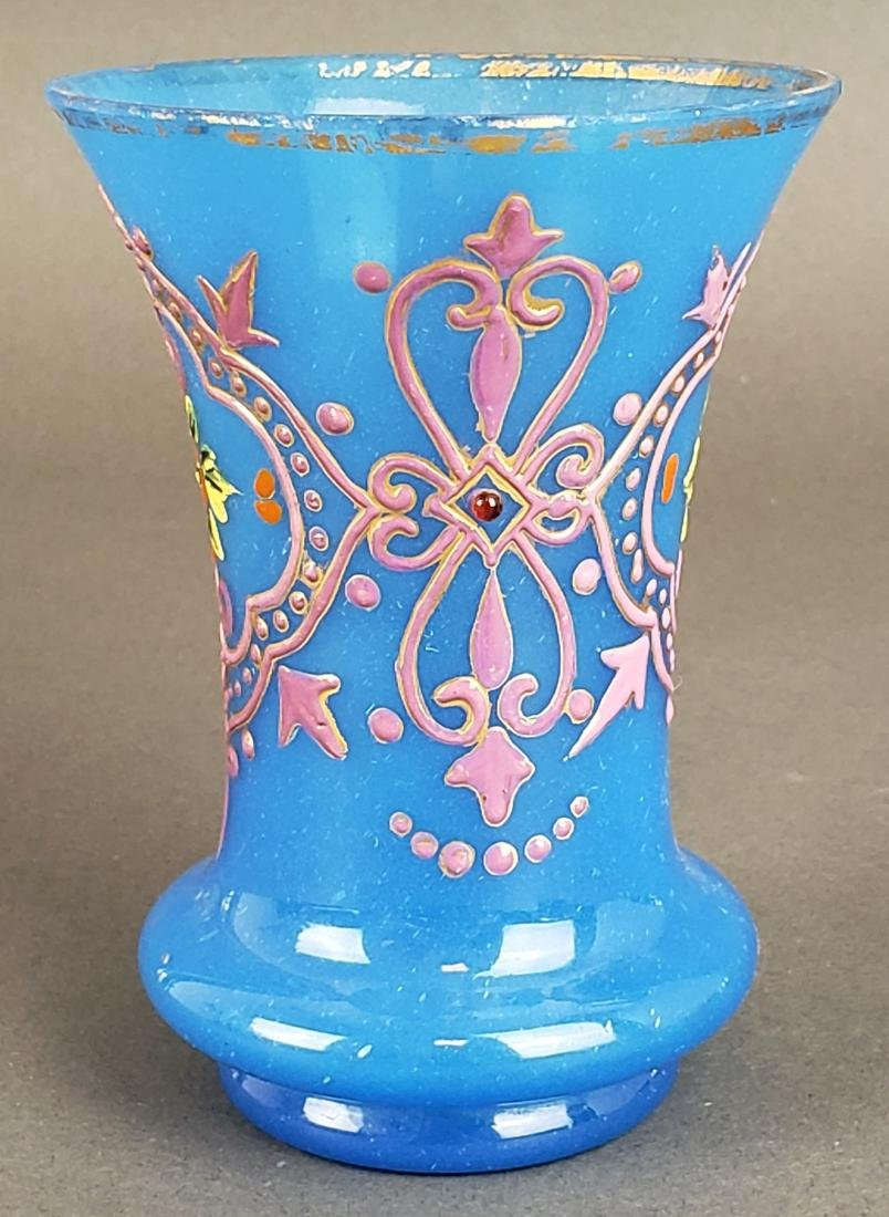 Pair of French Opaline Glass Vases - 4