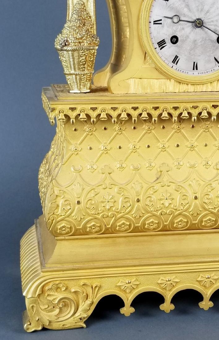 18th C. Exquisite Large Mercury Gold Empire Figural - 3