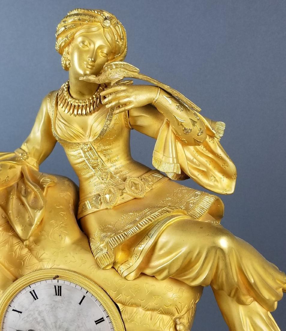 18th C. Exquisite Large Mercury Gold Empire Figural - 4