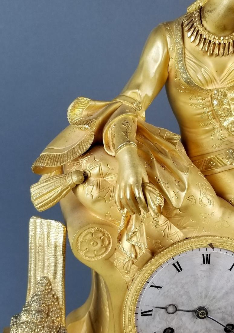 18th C. Exquisite Large Mercury Gold Empire Figural - 5