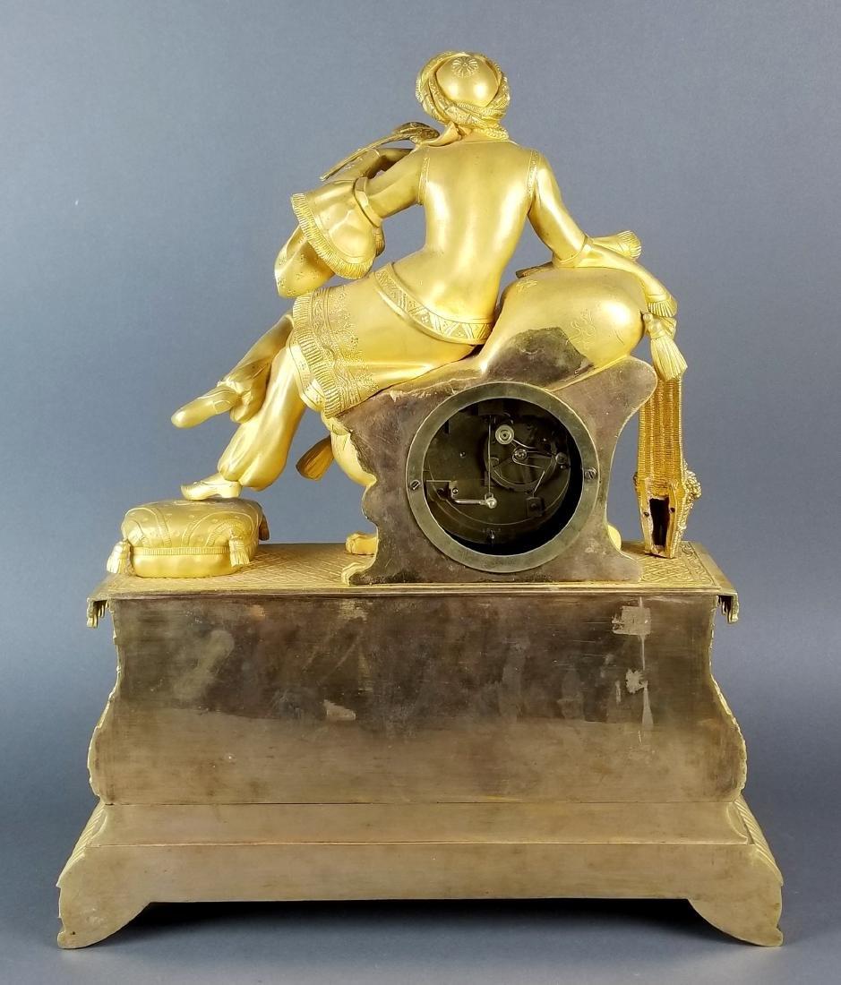 18th C. Exquisite Large Mercury Gold Empire Figural - 6