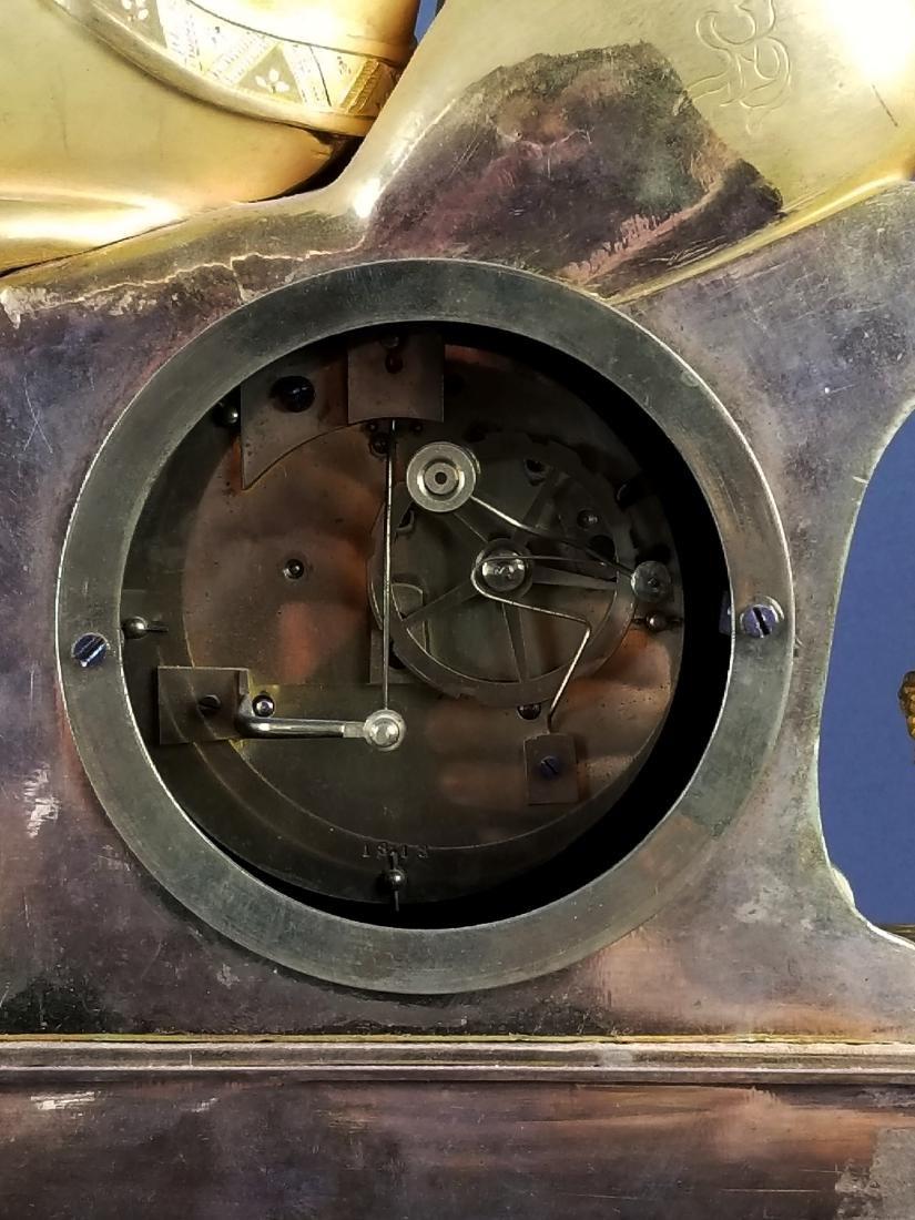18th C. Exquisite Large Mercury Gold Empire Figural - 7
