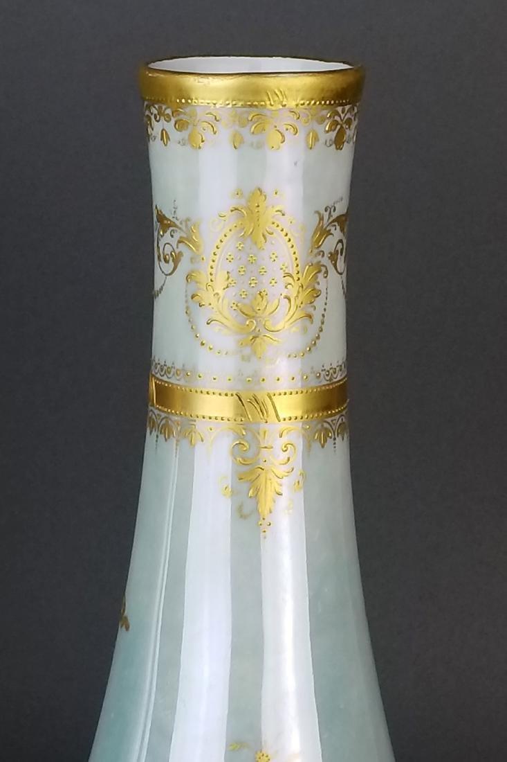 Pair of Exquisite Large Royal Vienna Hanpainted Vases, - 9