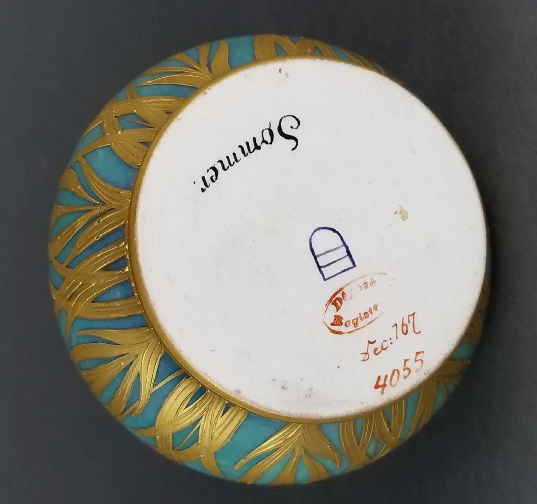 Fine 19th C. Royal Vienna Handpainted Vase - 4