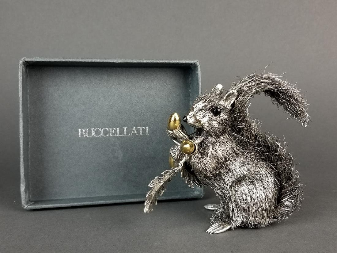 Buccellati Signed Fine Handmade Silver Figure of