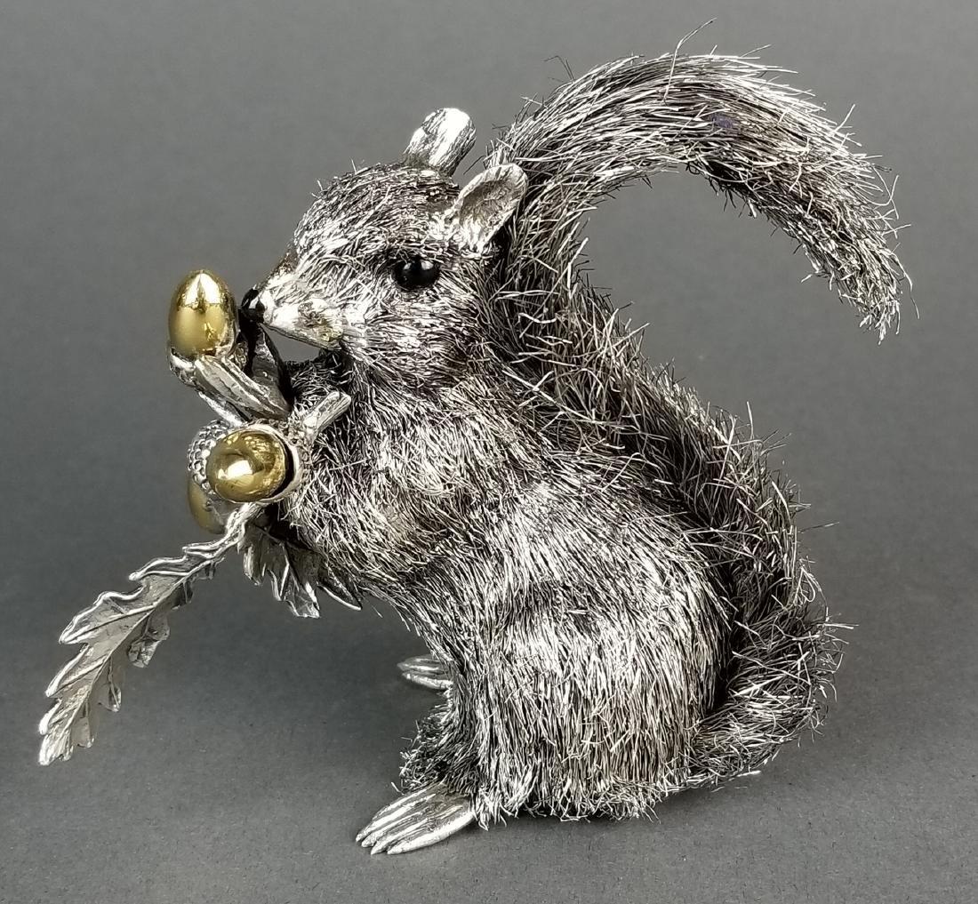 Buccellati Signed Fine Handmade Silver Figure of - 2