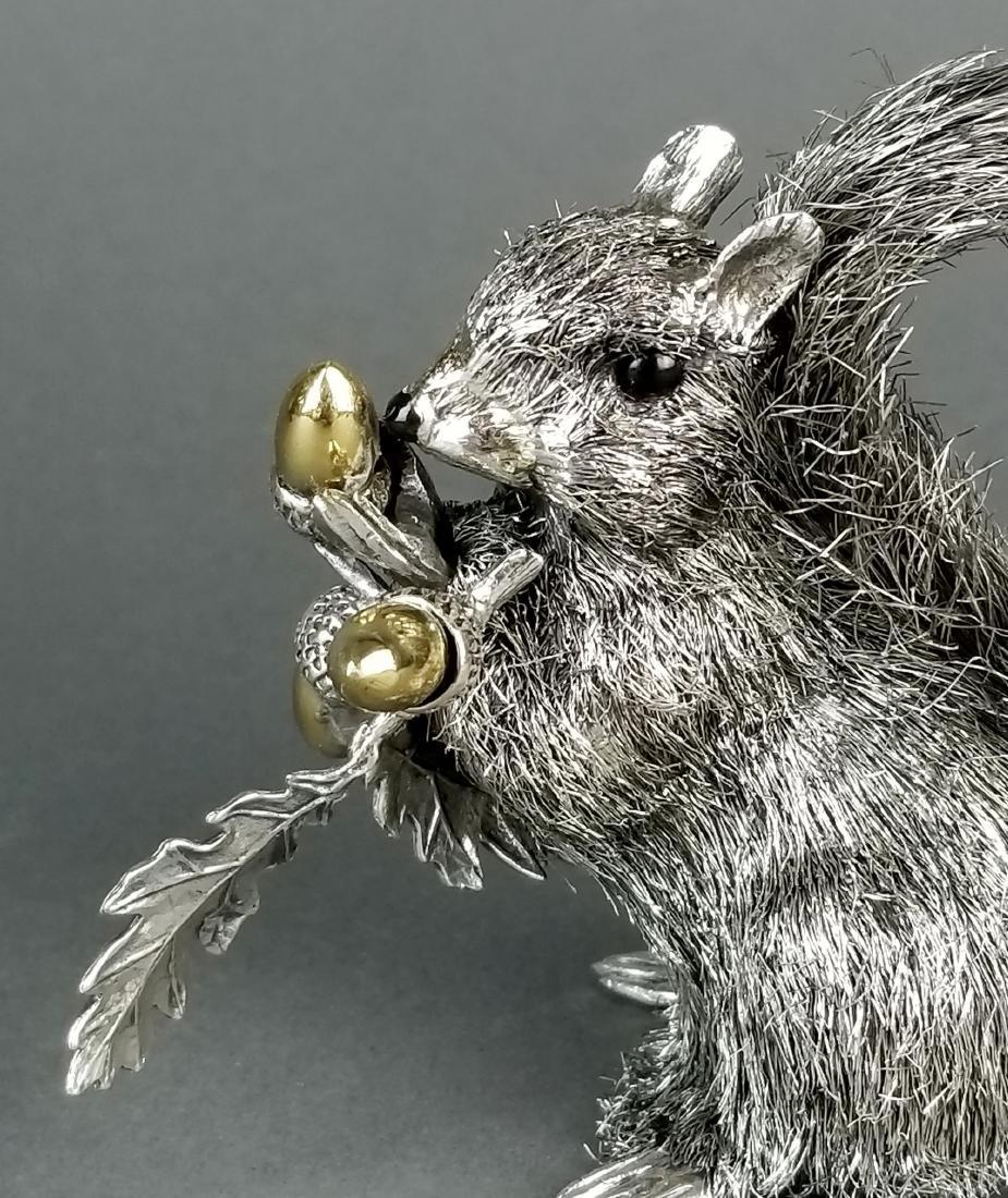 Buccellati Signed Fine Handmade Silver Figure of - 3