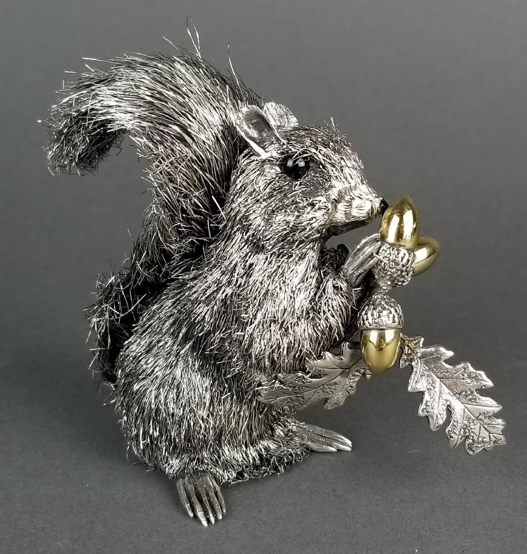 Buccellati Signed Fine Handmade Silver Figure of - 4
