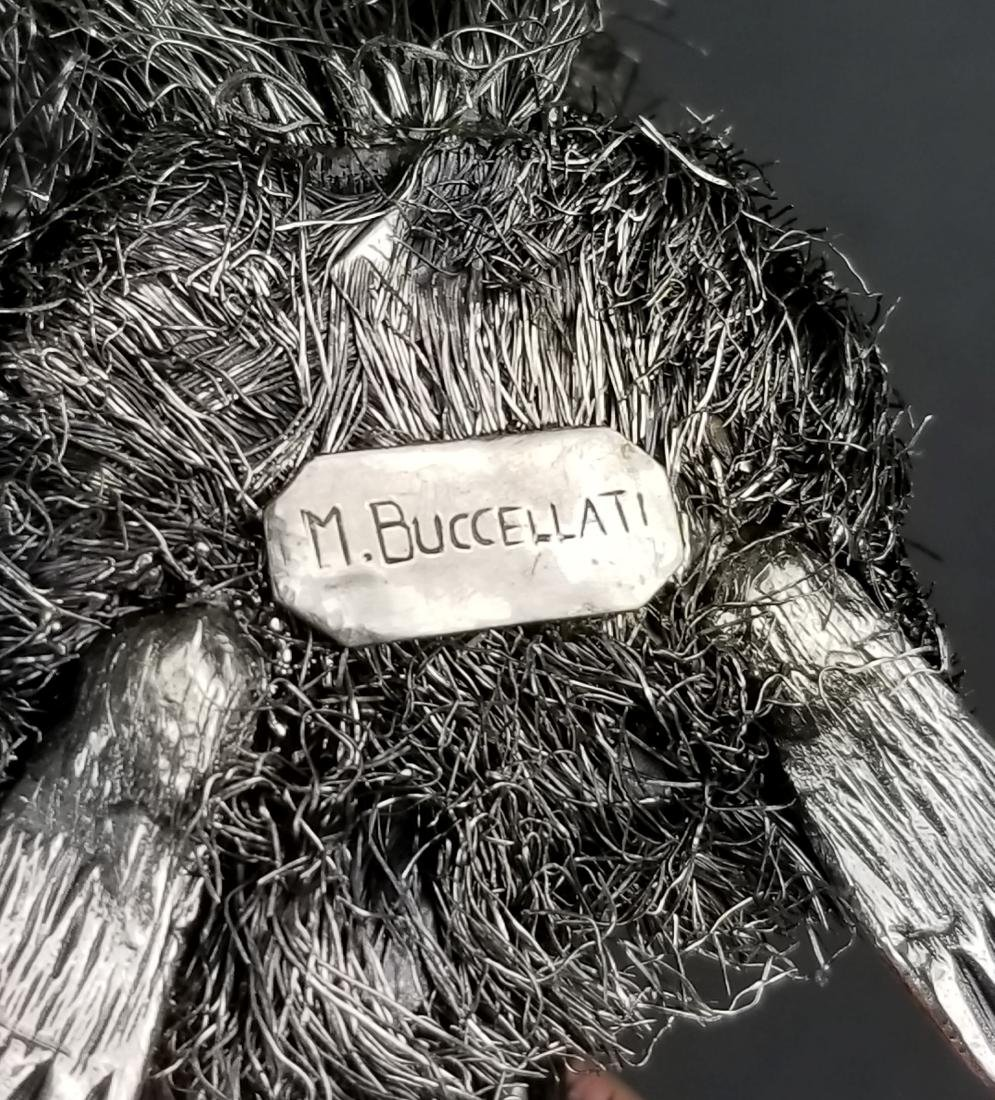 Buccellati Signed Fine Handmade Silver Figure of - 5