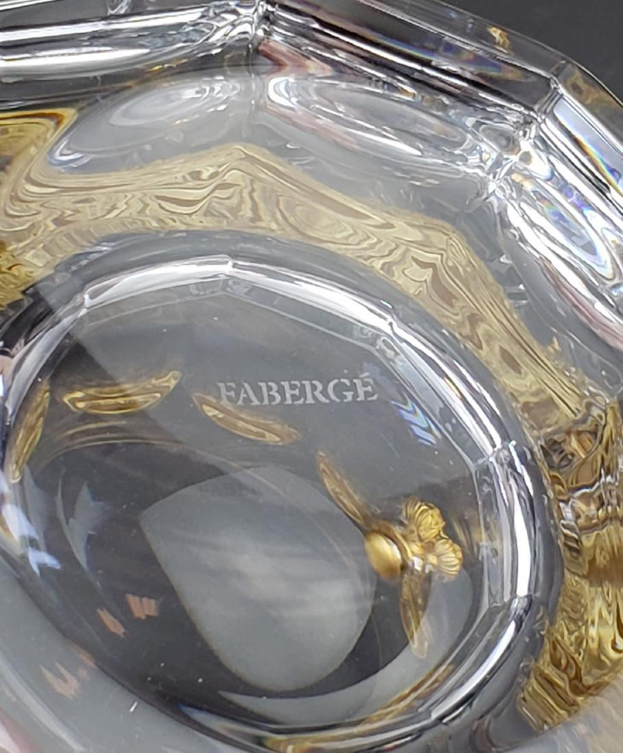 Faberge Atelier Crystal & Bronze Ice Bucket - 4