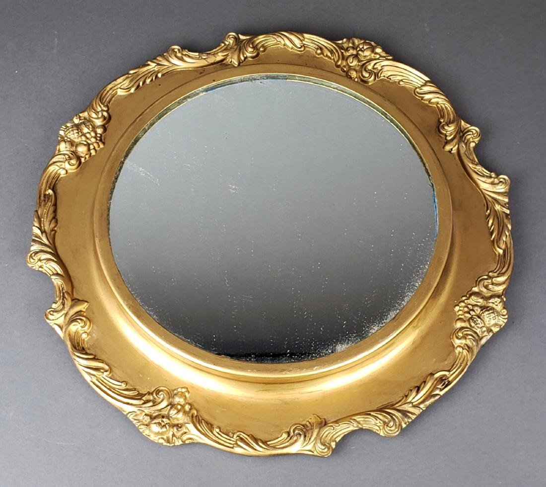 French Bronze Mirrored Plateau