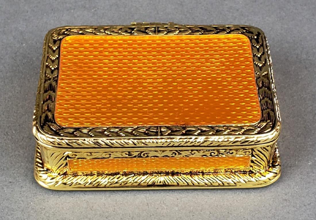 Faberge Enamel Jewelery Box - 2